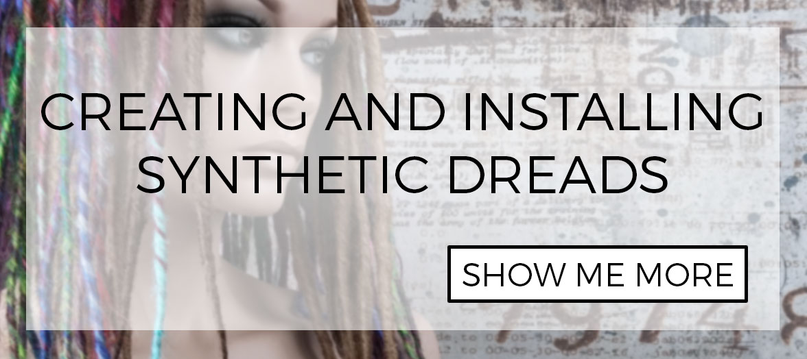 How to create and install synthetic dreads extensions