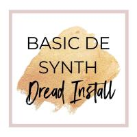 DE Synth Dread Install for Complete Color Change