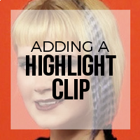 How to Add Believable Temporary Highlights with Clip-In Extensions