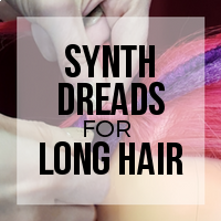 DIY: How to Synth Dreads and Minimize the Attachment Braid (Blanket Stitch)