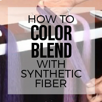 DIY: How to Blend Synthetic Fibers to Create Custom Colors