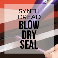 DIY: How to Use a Blow Dryer to Seal Synthetic Dreadlocks