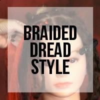 DIY: Inexpensive Dreadlock Makeover - Hair Extension Braids