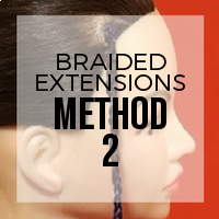 DIY: How to Create Braided Hair Extensions (Method 2)
