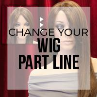 DIY: How to Change the Part Line on a Wig with a Household Iron