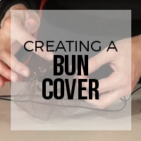 DIY: How to Create a Bun Cover to Help Contain Flyaway Hairs