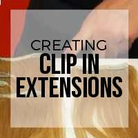 DIY: How to Create a Clip-In Hair Extension Set