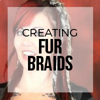 DIY: How to Create Faux Fur Braids - Easy Boho Accents for Dreadlocks