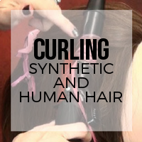 How to Curl Your Hair with Synthetic Extensions