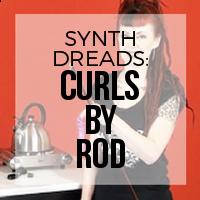 DIY: How to Create Synthetic Dreadlock Curls (Curling Rod Method)