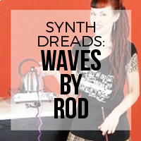 DIY: How to Create Synthetic Dreadlock Waves (Curling Rod Method)