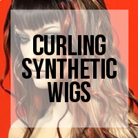 DIY: How to Curl a Synthetic Wig