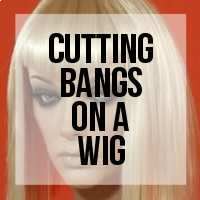 DIY: How to Cut Bangs On a Wig