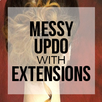 DIY: How to Create Premade Pieces for a Messy Updo