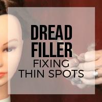 DIY: How to Fix Thining Spots on Dreadlocks