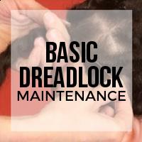 DIY: Basic Dreadlock Maintenance with Base Ties