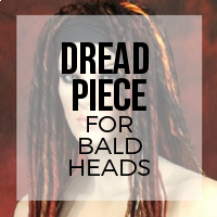 DIY: How to Create a Hair Piece for Short or No Hair Using Your Premade Dreads