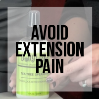 Avoiding Irritations Caused by Hair Extension Installations