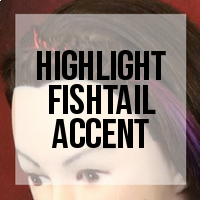 DIY: How to Create a Colorful Fishtail Accent Using Clip-In Extensions