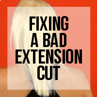 How to Fix a Bad Extensions Haircut