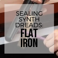 DIY: How to Seal Your Braid with a Flat Iron