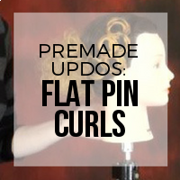 DIY: How to Create Premade Pieces for a Pin Curl Updo