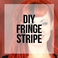 DIY: Creating a Colored Fringe Stripe