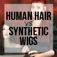 Human Hair vs Synthetic Wigs Comparison
