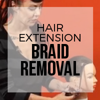 DIY: How to Remove Braided Hair Extension