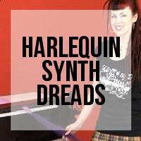 DIY: How to Create Harlequin (Half and Half) Synthetic Dreadlocks
