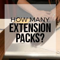 How Many Packs of Hair Extensions Do I Need?