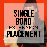 Placement for Strand by Strand Hair Extension