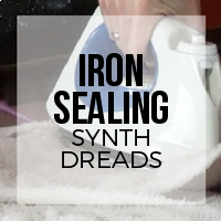 DIY: How to Use a Household Iron to Seal Synthetic Dreadlocks