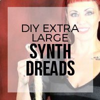 DIY: How to Create Extra Large Jumbo Sized Synthetic Dreads