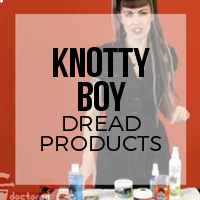 Introduction to Knotty Boy Products for Dreadlock Care and Maintenance