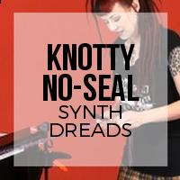 DIY: How to Create Knotty (Popcorn) Style Synthetic Dreadlocks