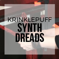 DIY: How to Create Synthetic Dreads from Krinklepuff Fiber - No Backcombing