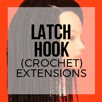 DIY: How to Install Latch Hook (Crochet) Extensions