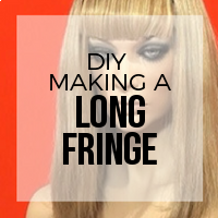 DIY: How to Create Hair Extension Bangs (Long Style)
