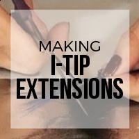 DIY: Making I-Tip Prebonded Extensions