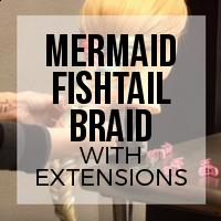 DIY: How to Create a Mermaid Fishtail Braid on Short Hair for Under $15