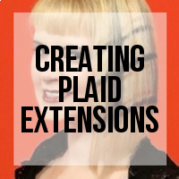 DIY: How to Create Plaid Wefted Panel Extensions