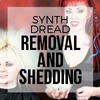 DIY: Synthetic Dreadlock Extensions Removal, Comb Out and Normal Shedding