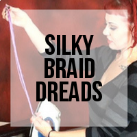 DIY: How to Create Synthetic Dreads from Kanekalon Silky Braid