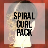 DIY: How to Create Premade Pieces for a Spiral Curl Updo