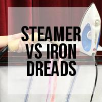 Method Comparison: Steamer vs Iron for Sealing Synthetic Dreadlocks