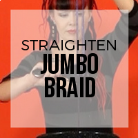 DIY: How to Straighten Jumbo Braid or Other Low Temp Fibers