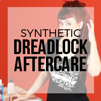 How to Care for Your Synthetic Dreadlock Installation