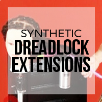 DIY: How to Add Single Ended (SE) Premade Synthetic Dreads to Natural Dreadlocks for Added Length