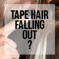 Troubleshooting: Why are My Tape Hair Extensions Falling Out?